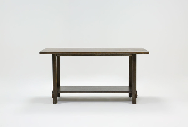Auburn Charcoal Counter Table  - 360