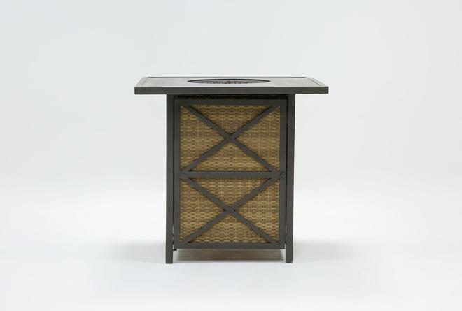Capri Outdoor Firepit Bar Table - 360