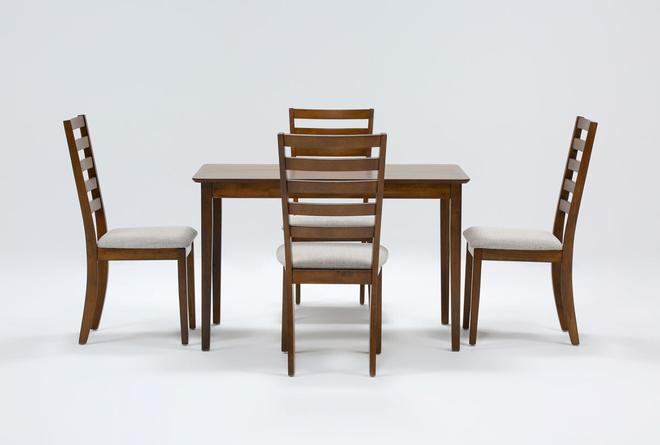Aldaire 5 Piece Rectangle Dining Set - 360
