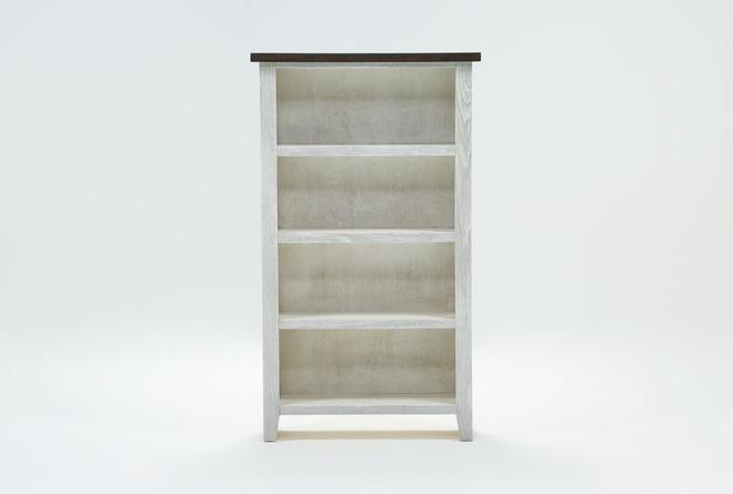 Dixon White 60 Inch Bookcase - 360
