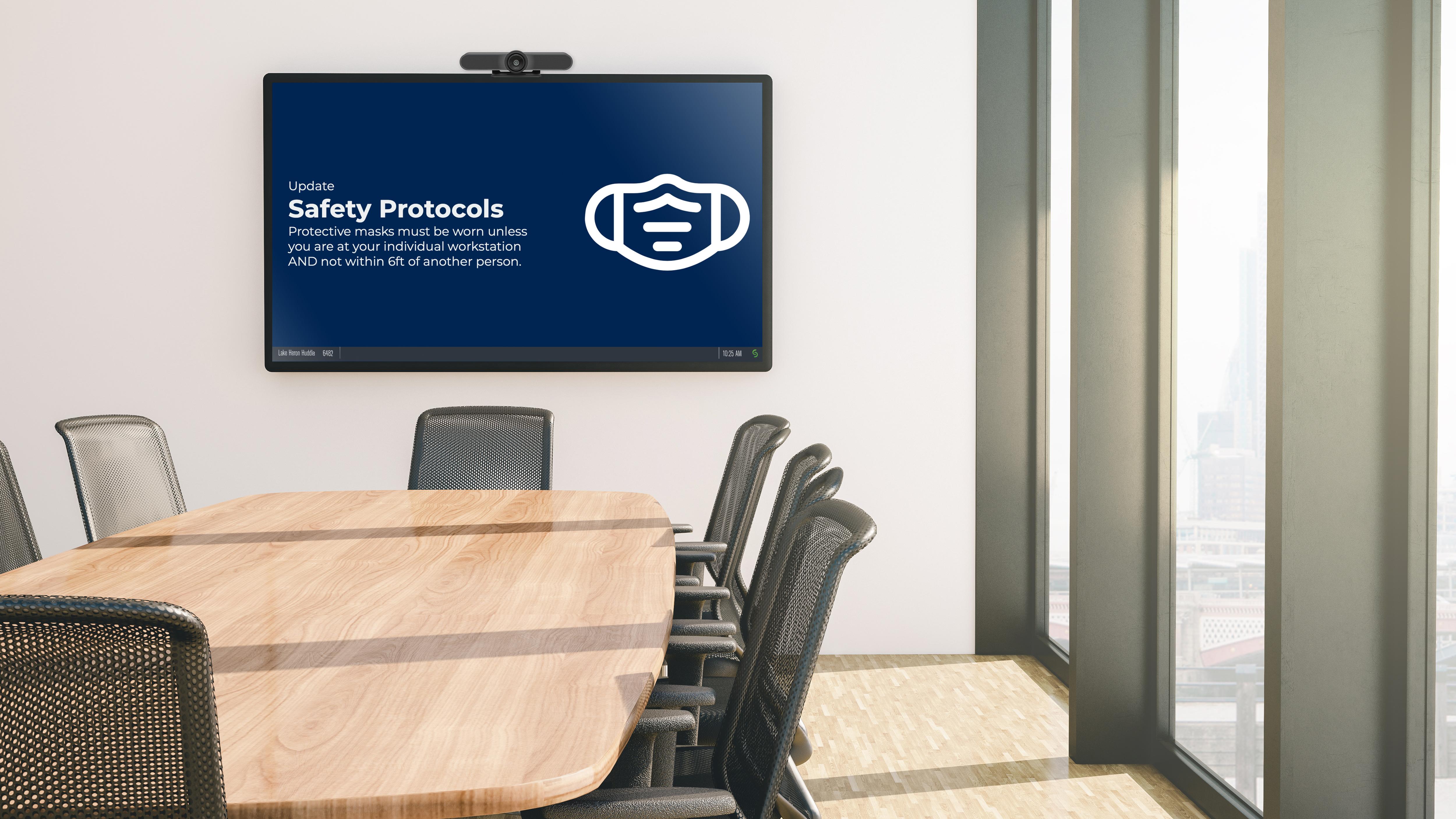 Digital Signage Room