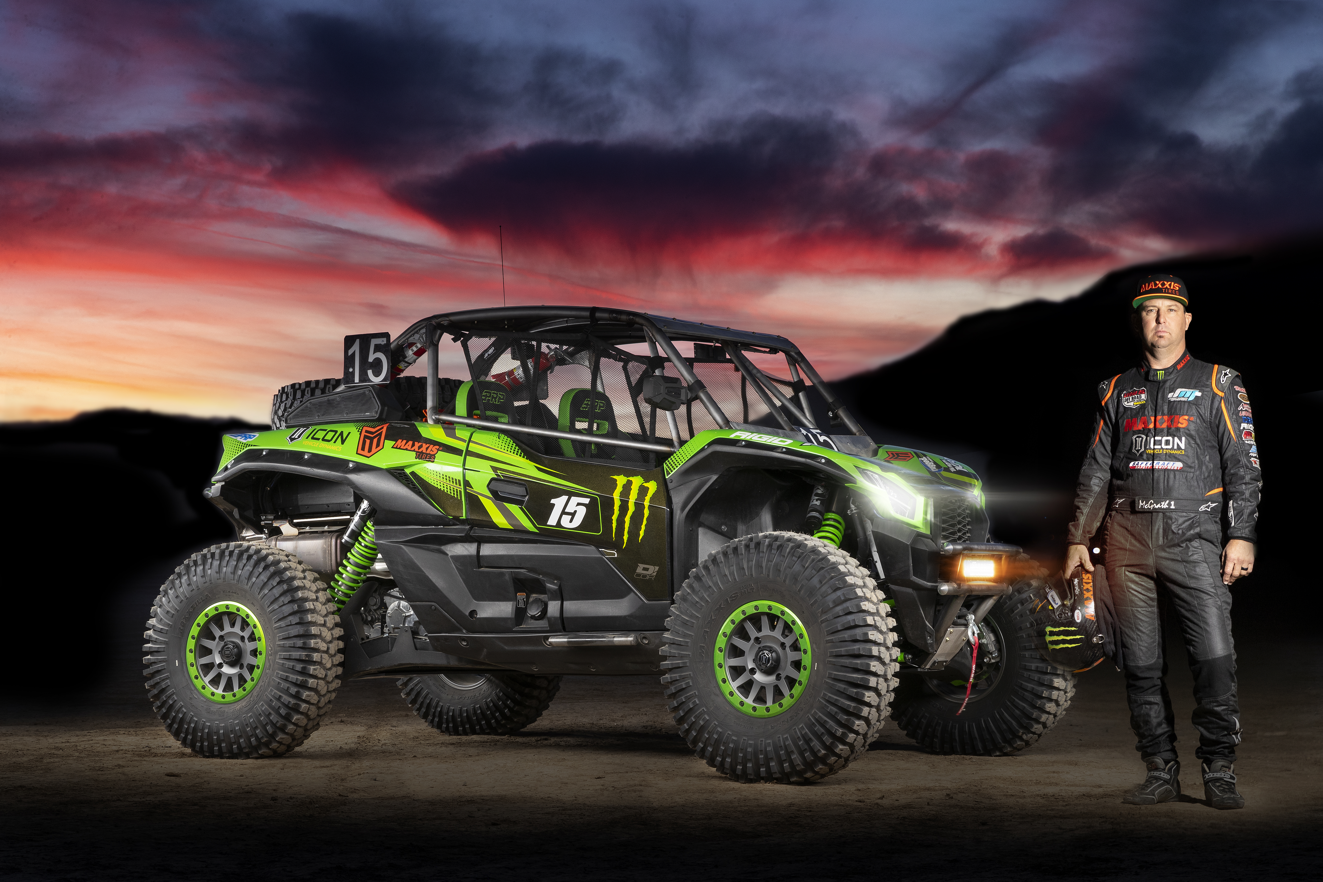 Jeremy McGrath King of Hammers 2020